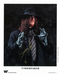 THE UNDERTAKER, WF World Wrestling Generation 10x8 Genuine Autograph 11121